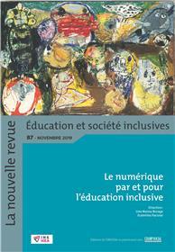 Revue NR-ESI n° 87. Le numérique par et pour l'éducation inclusive