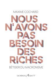 Nous n´avons pas besoin des riches