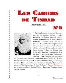 Les Cahiers de Tinbad n°9