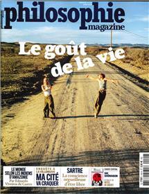 Philosophie Magazine n°140  Le goût de la vie  - juin 2020