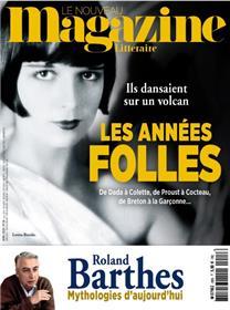 Le Nouveau Magazine Littéraire - les années folles N°28 - avril 2020