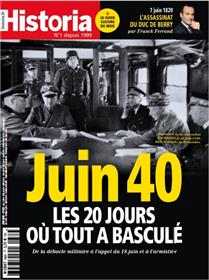Historia mensuel - juin 40 - N°882 - juin 2020