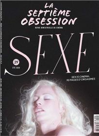 La Septième obsession N°29 Sexe et cinéma - été 2020