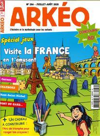 Arkéo junior n° 286 -Spécial jeux - juillet/août 2020