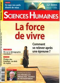 Sciences Humaines N°328 La force de vivre - juillet  2020