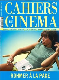 Cahiers du Cinéma N°767 Rohmer à la plage  - juillet/août 2020