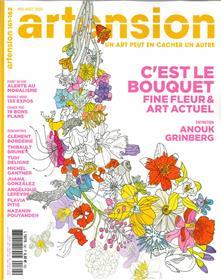 """Artension N°161/162  """"Dites-le avec des fleurs"""" - juillet/août 2020"""