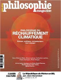 Philosophie Magazine HS N°46 Philosophie du réchauffement climatique  -juillet/août/septembre 2020