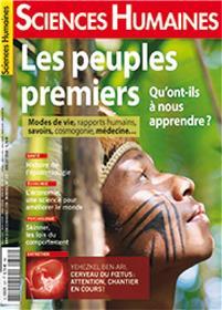 Sciences Humaines N°327 - les peuples premiers -juin 2020