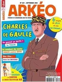 Arkéo junior n°287 Charles de Gaulle - septembre  2020