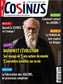 Cosinus n°229 Darwin - septembre 2020