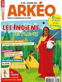 Arkéo junior n°288 Les Indiens des plaines - octobre  2020