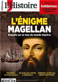 L´Histoire N°476 L´énigme Magellan  - octobre 2020