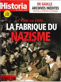 Historia mensuel N°886 La fabrique du nazisme  - octobre 2020