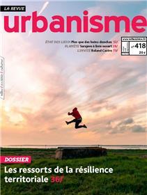 Urbanisme N°419 Mobilité/Immobilité  Janvier 2021