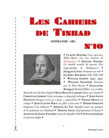 Les Cahiers de Tinbad n°10