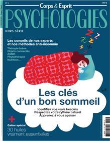 Psychologies HS Corps et esprit n°2 - Les clés d´un bon sommeil