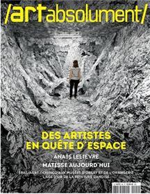 Art absolument n°94 - Artistes en quête d´espace - Oct/Nov 2020