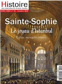Histoire de l´Antiquité à nos jours HS N°59 Sainte Sophie - septembre 2020