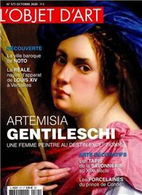 L´objet d´art n° 571 - Artemisia Gentileschi - oct 2020