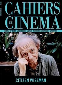 Cahiers du Cinéma N°769 - Citizen Wiseman - octobre 2020