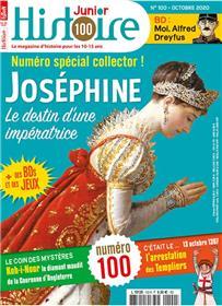 Histoire Junior N°100 L´Impératrice Joséphine  - octobre 2020