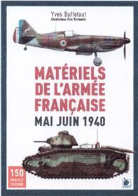 Matériels de l´armée française mai juin 1940