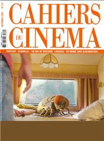 Cahiers du Cinéma N°770 - novembre 2020