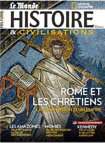 Histoire & Civilisations N°67 Rome et les chrétiens - décembre 2020