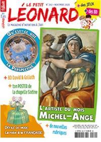 Le Petit Léonard n°262 - Michel ange - Novembre 2020