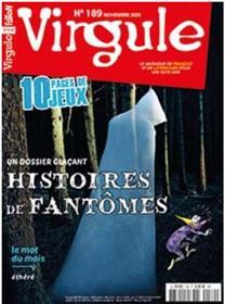Virgule n°189 - Les fantômes de l´Antiquité à nos jours - Novembre 2020