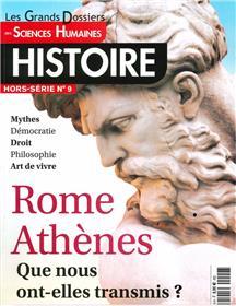 Sciences Humaines GD HS n°9 : Rome, Athènes