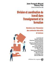 Division et coordination du travail dans l´enseignement et la formation
