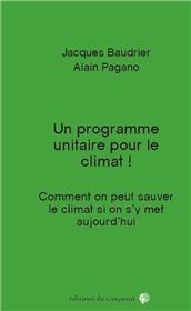 Un programme unitaire pour le climat