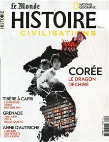 Histoire & Civilisations n°68 - Corée : le dragon déchiré - Janvier 2021