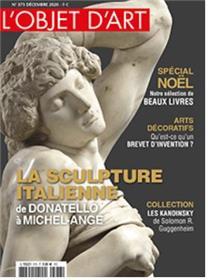 L´objet d´art n°573 - Sculpture de la renaissance italienne - Décembre 2020