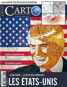 Carto N°62 Les états-unis  - novembre/décembre 2020