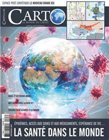 Carto n°63 - La santé dans le monde - Janvier 2021