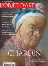 L´objet d´art n°574 - Jean Simeon Chardin - Janvier 2021