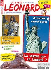 Le Petit Léonard n°264 - La statue de la Liberté - Janvier 2021