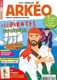 Arkeo Junior n°291 - Les pirates - Janvier 2021
