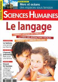 Sciences Humaines N°333 - Le langage - Février 2021
