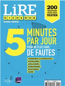 Lire magazine littéraire HS - 5 minutes par jour pour ne plus faire de fautes - Septembre 2020