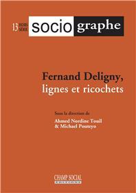 Revue Le Sociographe Hors-série n°13 Fernand Deligny, lignes et ricochets