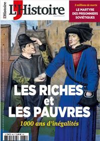 L'Histoire N°480 - Riches et pauvres : 1000 ans d'inégalités - Février 2021