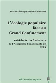 L´écologie populaire face au grand confinement