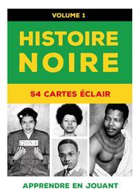 Histoire noire : 54 Cartes éclair (Vol. 1 vert )