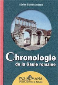 Chronologie de la Gaule romaine