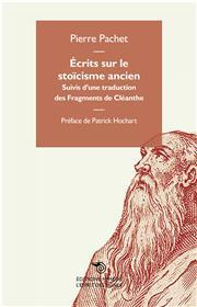 Écrits sur le stoïcisme ancien