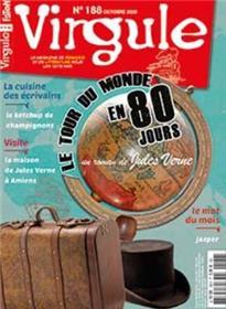 Virgule n°188 Le tour du Monde en 80 jours J. Vernes - octobre  2020